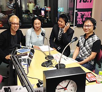 2013年9月9日 さくらFM 出演